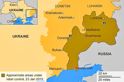 Donbass map